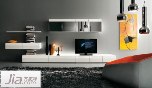 新年30款电视背景墙 适合大户型及别墅设计